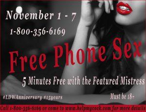 Free Phone Sex